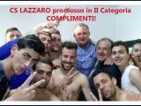 CS LAZZARO promosso
