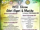 """XVIII Edizione Festival """"Colori Sapori & Musiche"""""""